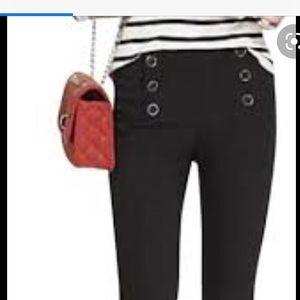 Soho Black Triple Button Pullon Pants Size XL